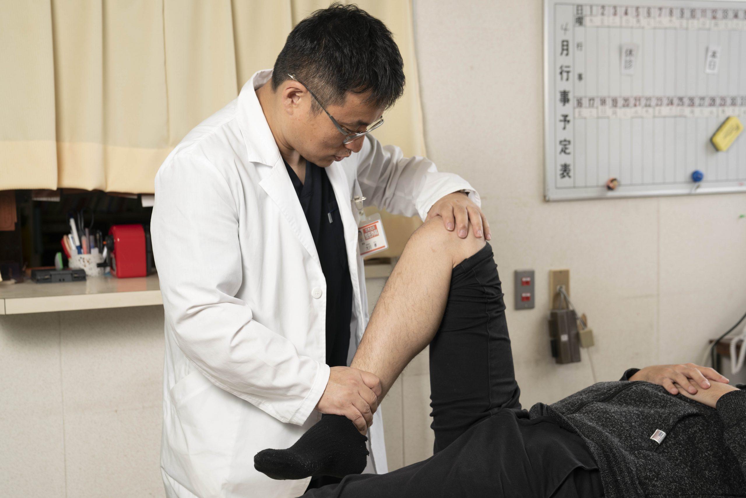 記事 「膝が痛い」 最初の治療のアイキャッチ画像
